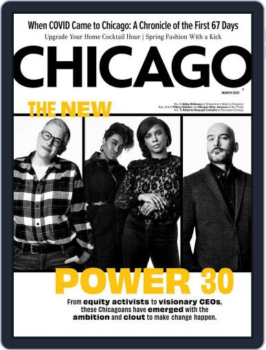 Chicago Magazine (Digital) March 1st, 2021 Issue Cover