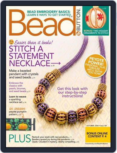 Bead&Button October 1st, 2020 Digital Back Issue Cover