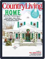 Country Living Magazine (Digital) Subscription December 1st, 2020 Issue
