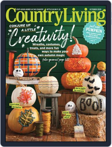 Country Living Magazine (Digital) October 1st, 2020 Issue Cover