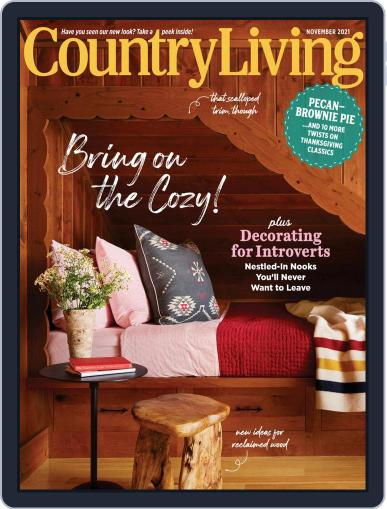 Country Living Magazine (Digital) November 1st, 2021 Issue Cover
