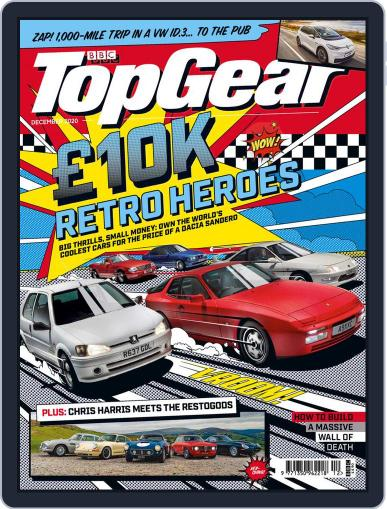 BBC Top Gear (digital) Magazine December 1st, 2020 Issue Cover
