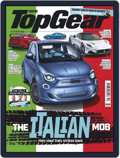 BBC Top Gear (digital) Magazine October 1st, 2020 Issue Cover