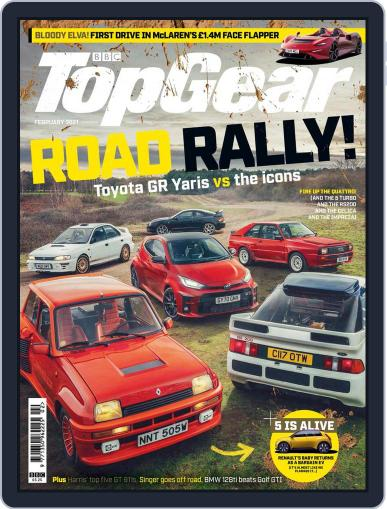 BBC Top Gear (digital) Magazine February 1st, 2021 Issue Cover