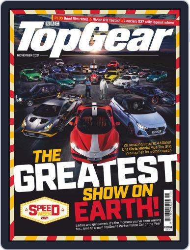 BBC Top Gear (digital) Magazine November 1st, 2021 Issue Cover