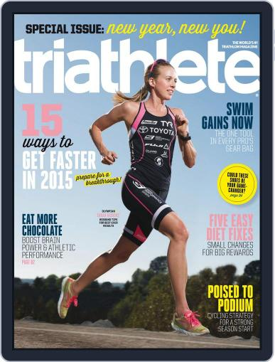 Triathlete Magazine (Digital) January 1st, 2015 Issue Cover