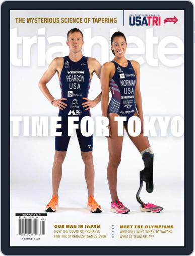 Triathlete July 1st, 2021 Digital Back Issue Cover