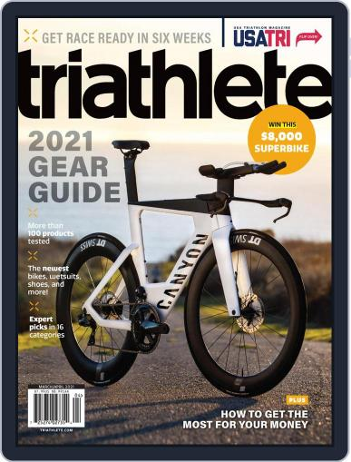 Triathlete Magazine (Digital) March 1st, 2021 Issue Cover