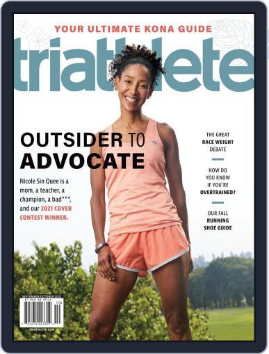 Triathlete September 1st, 2021 Digital Back Issue Cover
