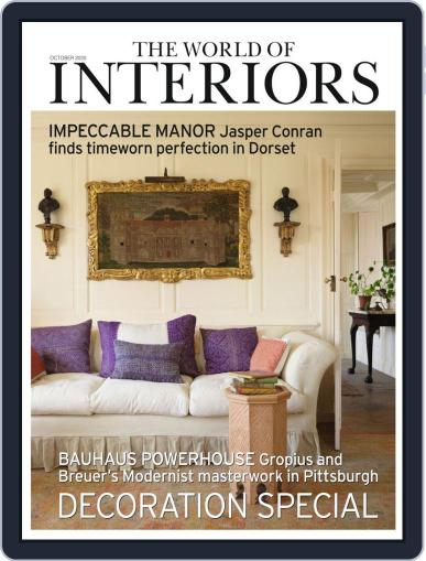 The World of Interiors Magazine (Digital) October 1st, 2020 Issue Cover