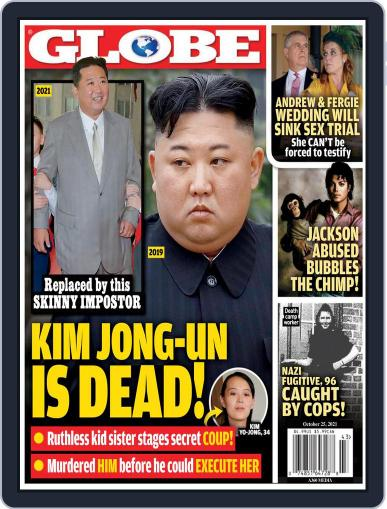 Globe Magazine (Digital) October 25th, 2021 Issue Cover