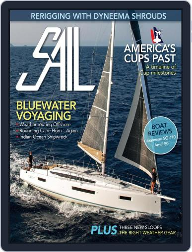 SAIL Magazine (Digital) March 1st, 2021 Issue Cover
