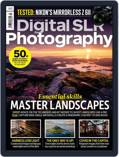 Digital SLR Photography Magazine March 1st, 2021 Issue Cover