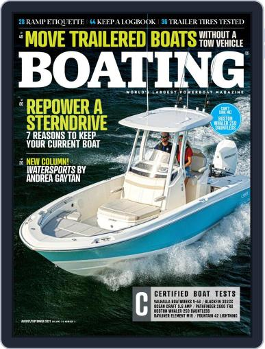 Boating Magazine (Digital) August 1st, 2021 Issue Cover