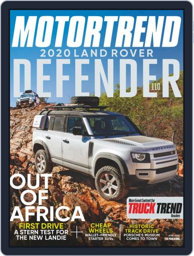 Truck Trend June 1st, 2020 Digital Back Issue Cover