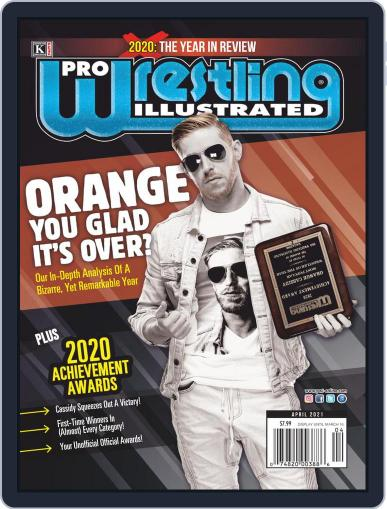 Pro Wrestling Illustrated Magazine (Digital) April 1st, 2021 Issue Cover