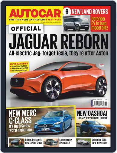 Autocar Magazine (Digital) February 24th, 2021 Issue Cover