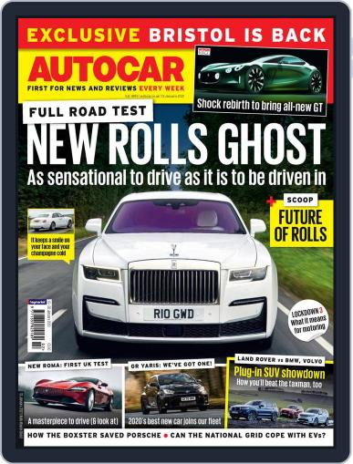 Autocar Magazine (Digital) January 13th, 2021 Issue Cover