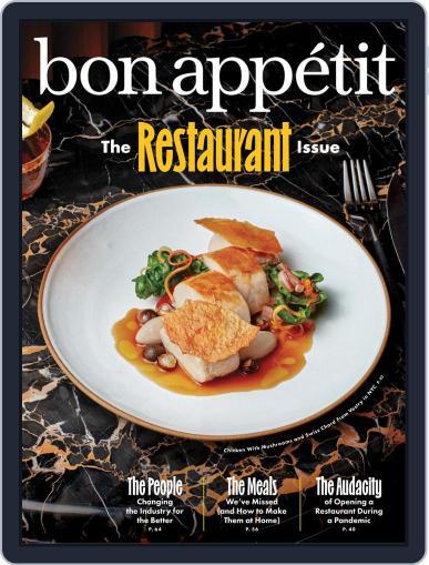 Bon Appetit Magazine (Digital) October 1st, 2021 Issue Cover