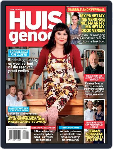 Huisgenoot Magazine (Digital) March 4th, 2021 Issue Cover