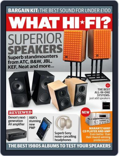 What Hi-Fi? Magazine (Digital) November 1st, 2020 Issue Cover