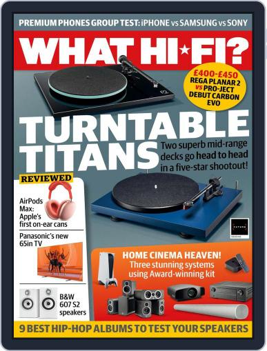 What Hi-Fi? Magazine (Digital) March 1st, 2021 Issue Cover