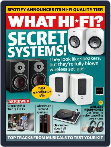 What Hi-Fi? Magazine (Digital) May 1st, 2021 Issue Cover