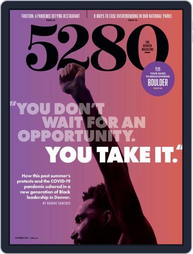 5280 Magazine (Digital) September 1st, 2020 Issue Cover