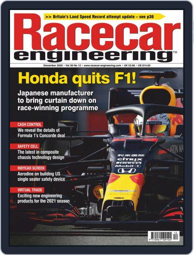 Racecar Engineering Magazine (Digital) December 1st, 2020 Issue Cover