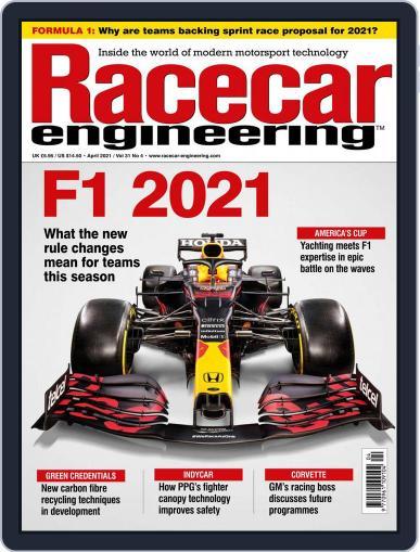 Racecar Engineering Magazine (Digital) April 1st, 2021 Issue Cover