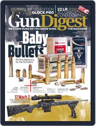 Gun Digest Magazine (Digital) January 1st, 2021 Issue Cover