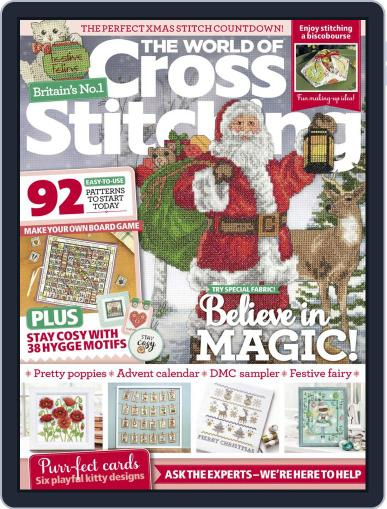 The World of Cross Stitching Magazine (Digital) November 1st, 2020 Issue Cover