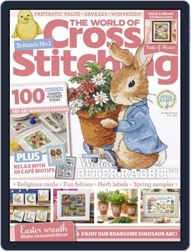 The World of Cross Stitching Magazine (Digital) April 1st, 2021 Issue Cover