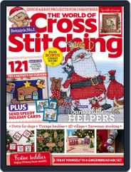 The World of Cross Stitching Magazine (Digital) Subscription December 1st, 2021 Issue