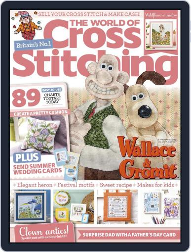 The World of Cross Stitching Magazine (Digital) June 1st, 2021 Issue Cover