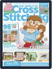 The World of Cross Stitching Magazine (Digital) Subscription September 1st, 2021 Issue