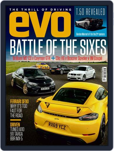 Evo Magazine (Digital) September 1st, 2020 Issue Cover
