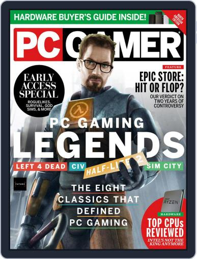 PC Gamer (US Edition) Magazine (Digital) April 1st, 2021 Issue Cover