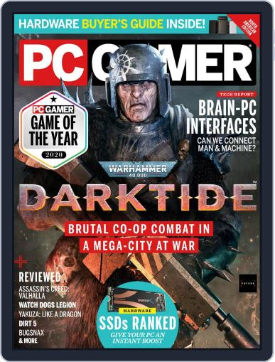 PC Gamer (US Edition) Magazine (Digital) February 1st, 2021 Issue Cover
