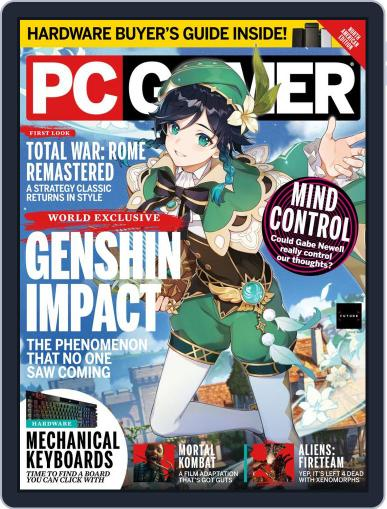 PC Gamer (US Edition) Magazine (Digital) June 1st, 2021 Issue Cover
