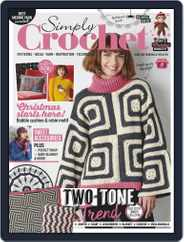 Simply Crochet Magazine (Digital) Subscription October 1st, 2020 Issue