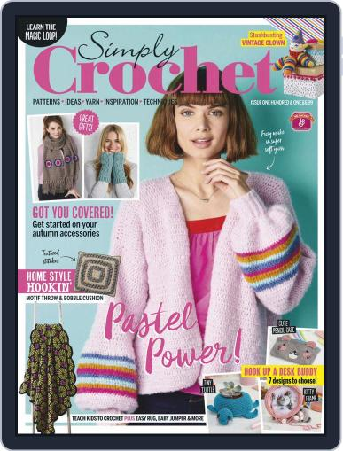Simply Crochet Magazine (Digital) September 1st, 2020 Issue Cover