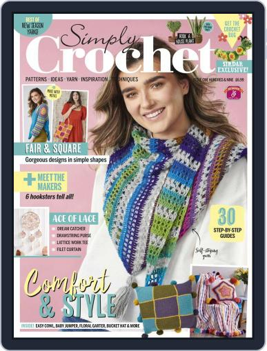 Simply Crochet Magazine (Digital) April 15th, 2021 Issue Cover