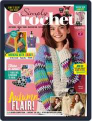 Simply Crochet Magazine (Digital) Subscription August 25th, 2021 Issue
