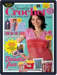 Simply Crochet Magazine (Digital) Subscription July 28th, 2021 Issue