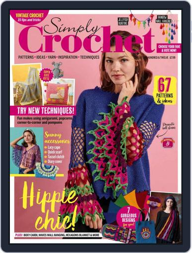 Simply Crochet Magazine (Digital) June 30th, 2021 Issue Cover