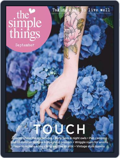 The Simple Things Magazine (Digital) September 1st, 2020 Issue Cover