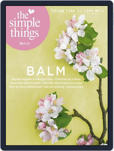 The Simple Things Magazine (Digital) March 1st, 2021 Issue Cover