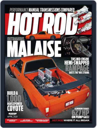 Hot Rod Magazine (Digital) April 1st, 2021 Issue Cover