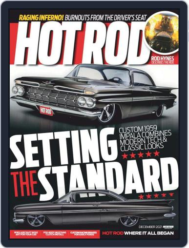 Hot Rod Magazine (Digital) December 1st, 2021 Issue Cover